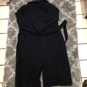 J. Crew Jackets & Coats - J Crew Long Wrap Coat in Italian Boiled Wool NEW
